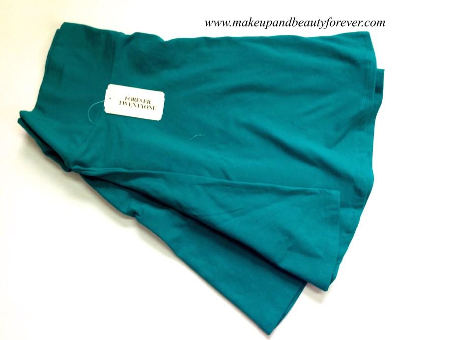 Forever 21 blue skirt