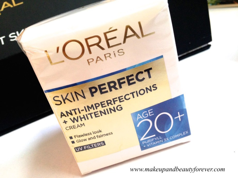 L'Oreal Paris India Skin Perfect Range - Skin Care for every Age 20+ Skin Perfect Range