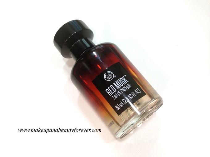 The Body Shop Red Musk Eau De Parfum perfume Review India