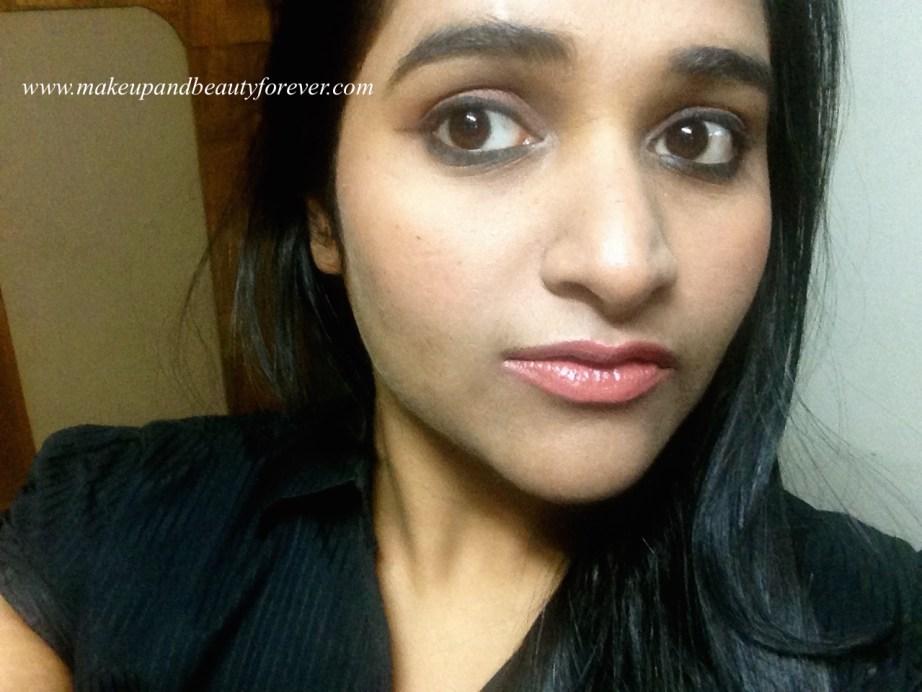Colorbar Velvet Matte Lipstick 58 BR Bare Review Astha FOTD