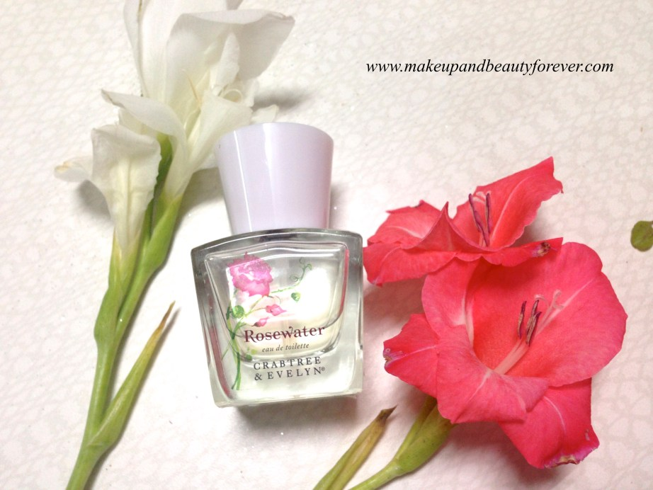 Crabtree & Evelyn Rosewater Eau de Toilette Perfume Review