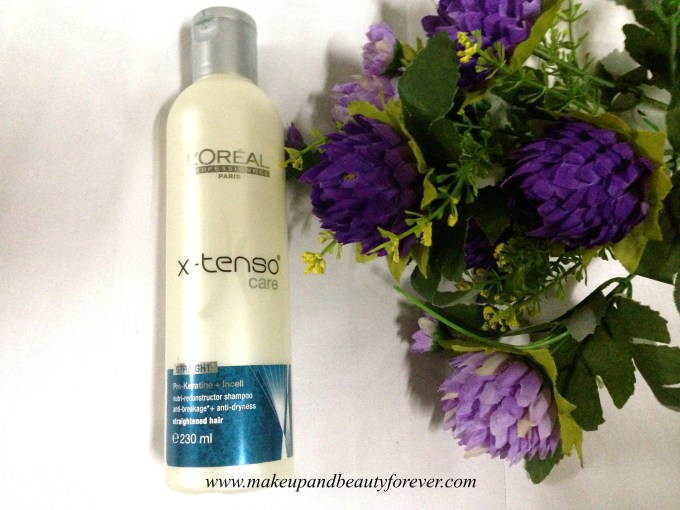 L'Oreal Professionnel X-Tenso Care Nutri-Reconstructor Shampoo Review Price Buy India