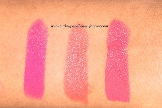 New Lakme Enrich Satin Lipstick P 163  New Lakme Enrich Satin Lipstick P 164  New Lakme Enrich Satin Lipstick P 165