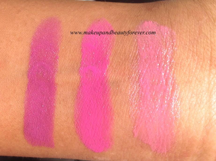 New Lakme Enrich Satin Lipstick P 170  New Lakme Enrich Satin Lipstick P 171  New Lakme Enrich Satin Lipstick P 172