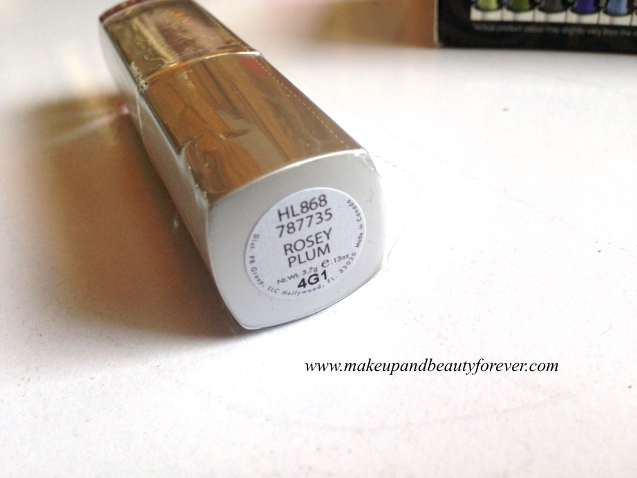 Palladio Herbal Lipstick Rose Plum