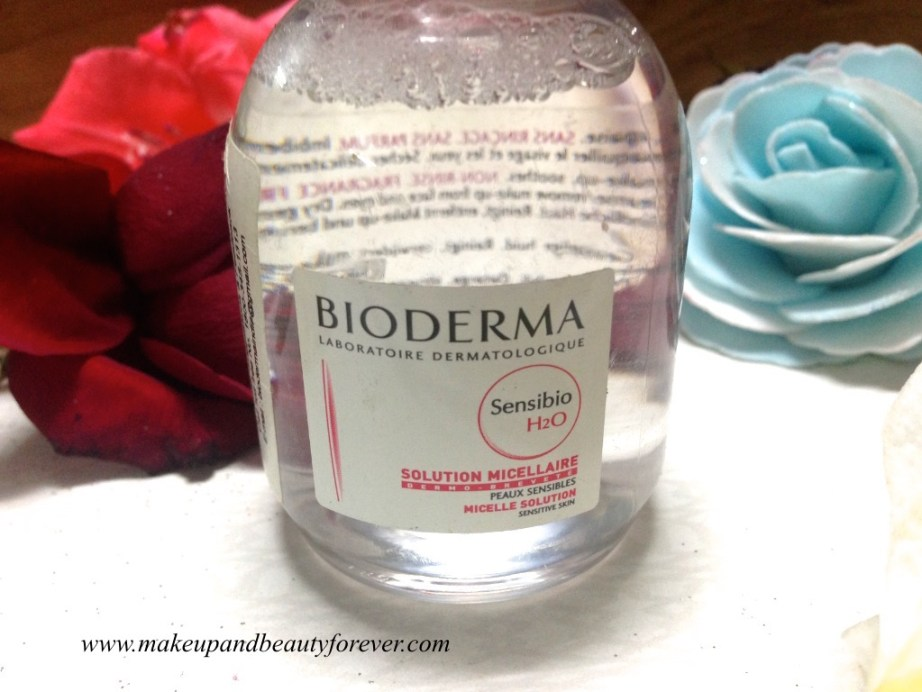 Bioderma Sensible H2O Micelle Solution Review MBF