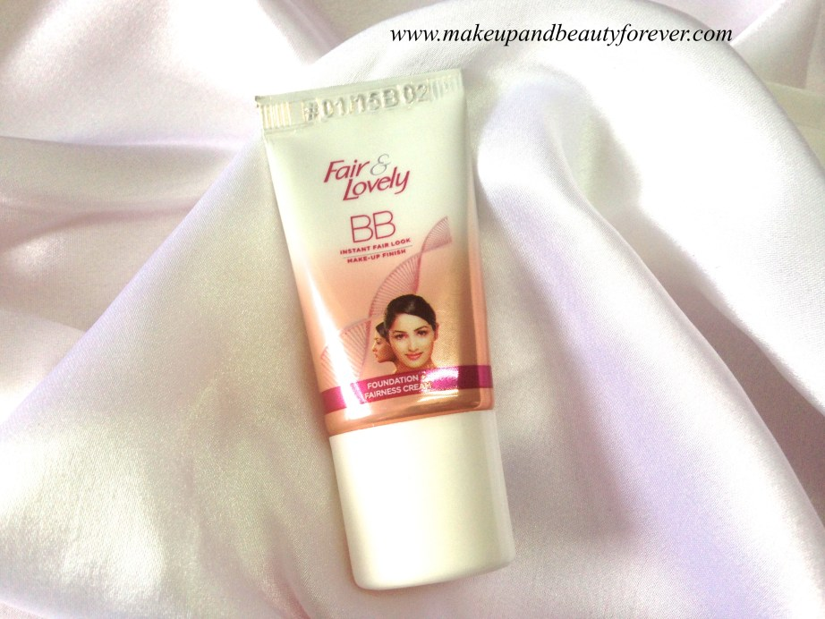 Fair and Lovely BB Cream Review