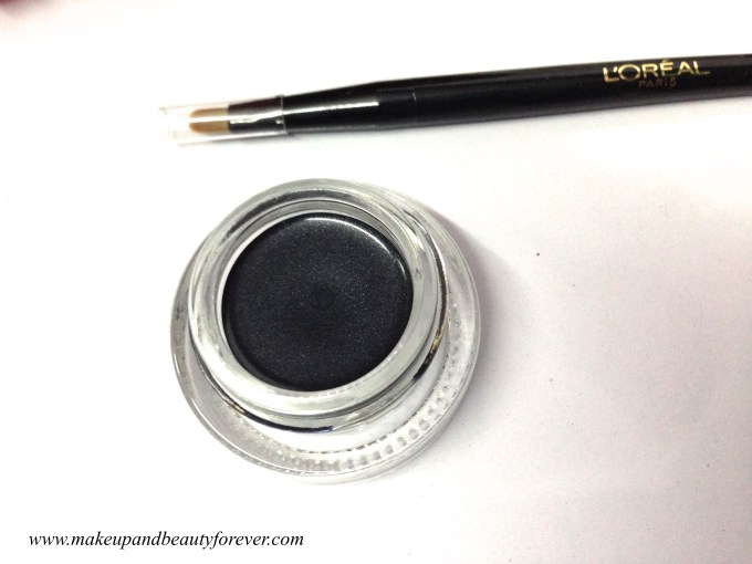 L'oreal Paris Super Liner Gel Intenza 36H in Diamond Black swatch