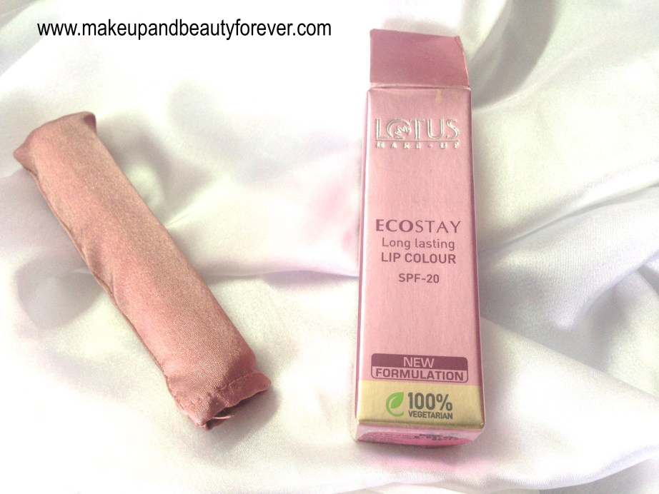 Lotus Herbals Ecostay Long Lasting Lip Colour Rose Mary 408 Review 6