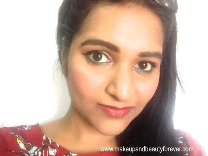 Lotus Herbals Ecostay Long Lasting Lip Colour Rose Mary 408 Review Astha MBF FOTD