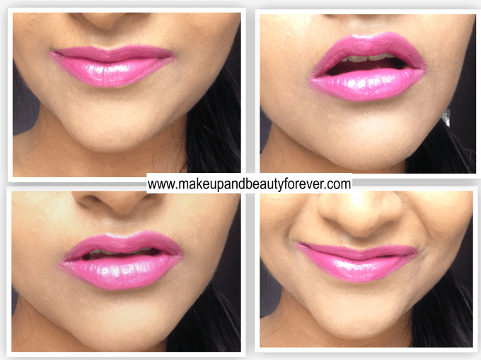 New Lakme Enrich Satin Lipstick P 163 Review Swatch LOTD Astha MBF