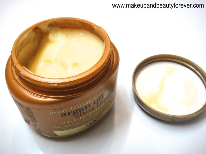 Organix Smooth Hydration Argan Oil and Shea Butter Moisture Restore Review