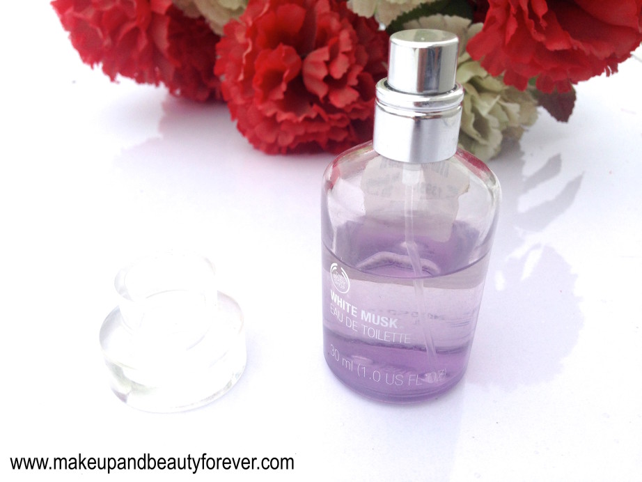 The Body Shop White Musk Eau De Toilette Review EDT