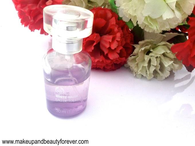 The Body Shop White Musk Eau De Toilette Review beauty blog