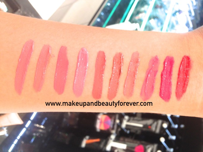 All Colorbar Deep Matte Lip Crème Review Shades Swatches Deep Red Deep Lily Deep Rose Deep Earth Deep Coco Deep Rust Deep Pink Deep Blush Peach Rouge