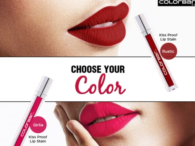 All Colorbar Kiss Proof Lip Stain Review Shades Swatches Price India MBF