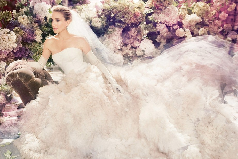Carrie Bradshaw's Wedding Dress by Vera Wang