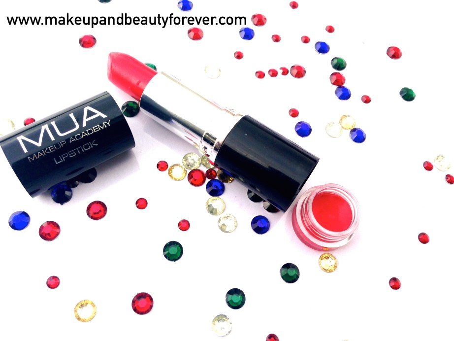 MUA Makeup Academy Lipstick Shade 13 Review 5