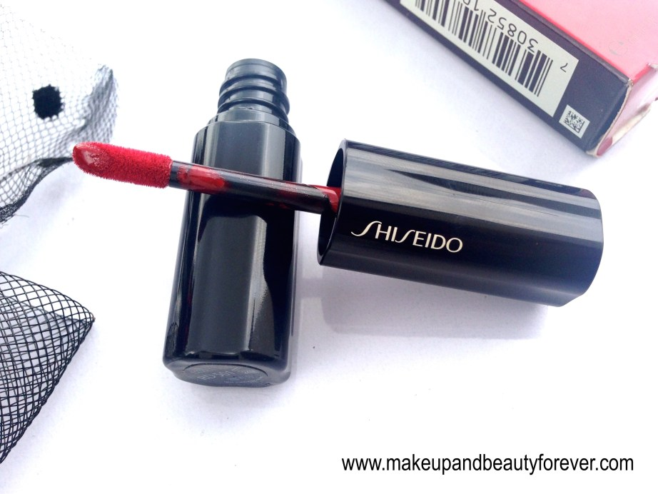 Shiseido Lacquer Rouge Liquid Lipstick Drama RD 501 India
