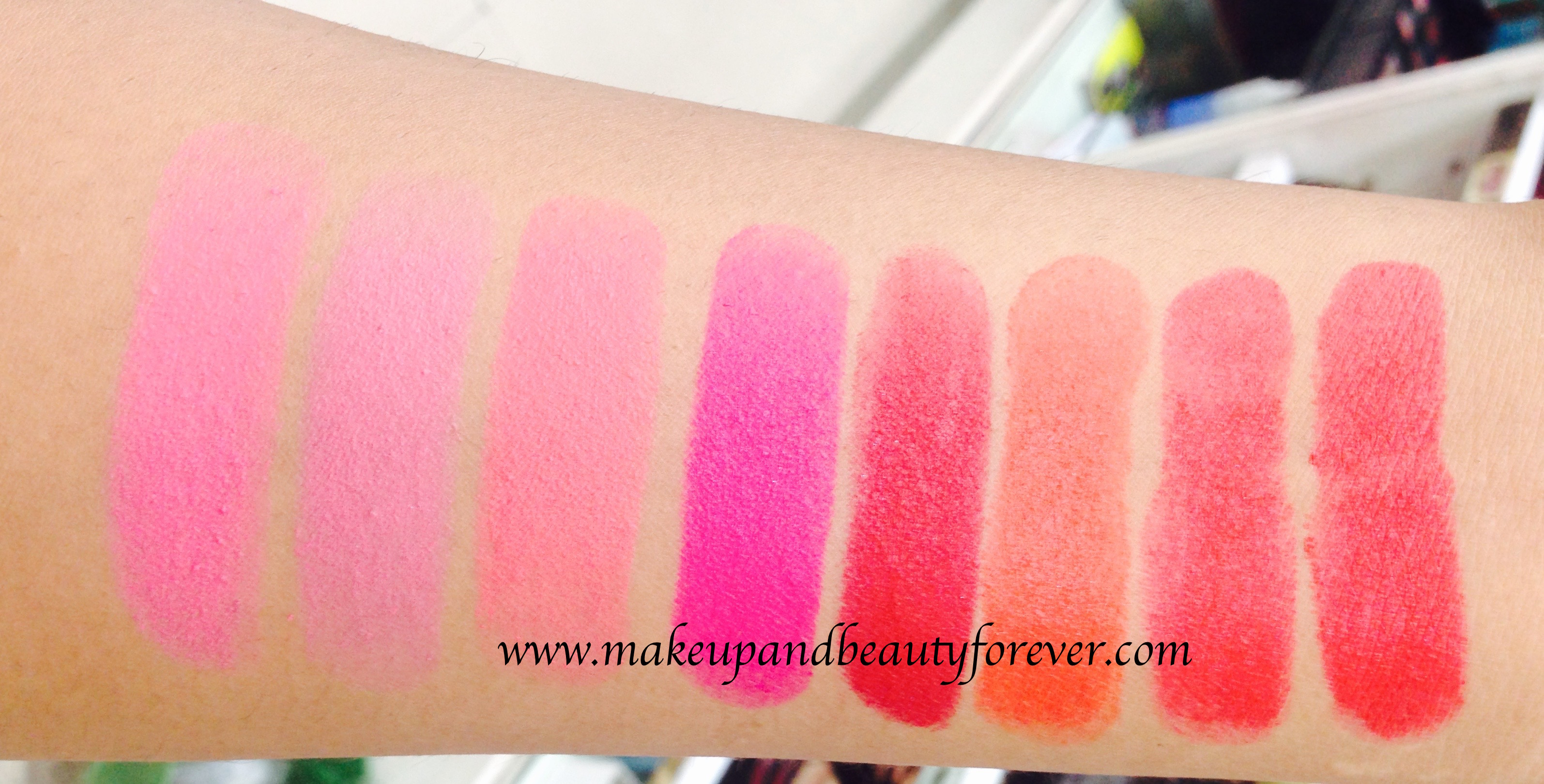 Maybelline Color Show Fuchsia Lipstick Review