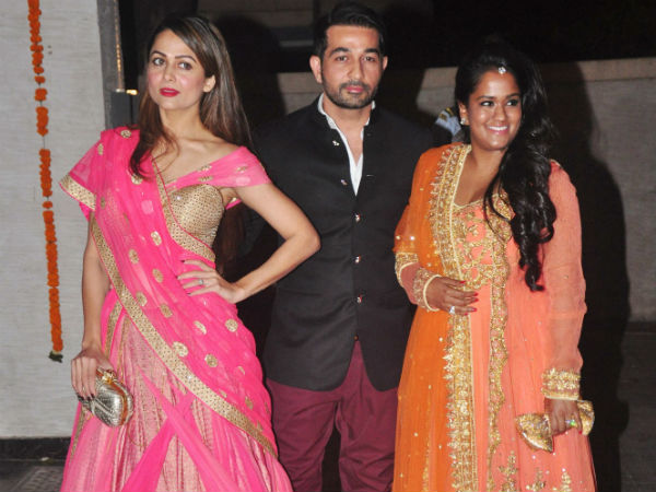 Amrita Arora Arpita Khan Sharma Soha Ali Khan Wedding reception