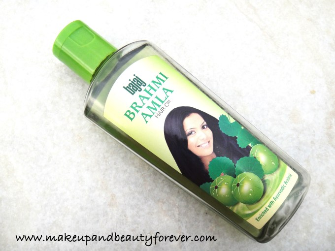 Bajaj Brahmi Amla Hair Oil Review price