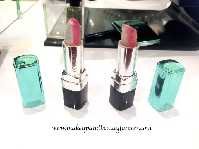 Chambor Happy Hues Moisture Plus Lipstick Ocean Roses Ice Berries Review Shades Swatches Price India summer 2015