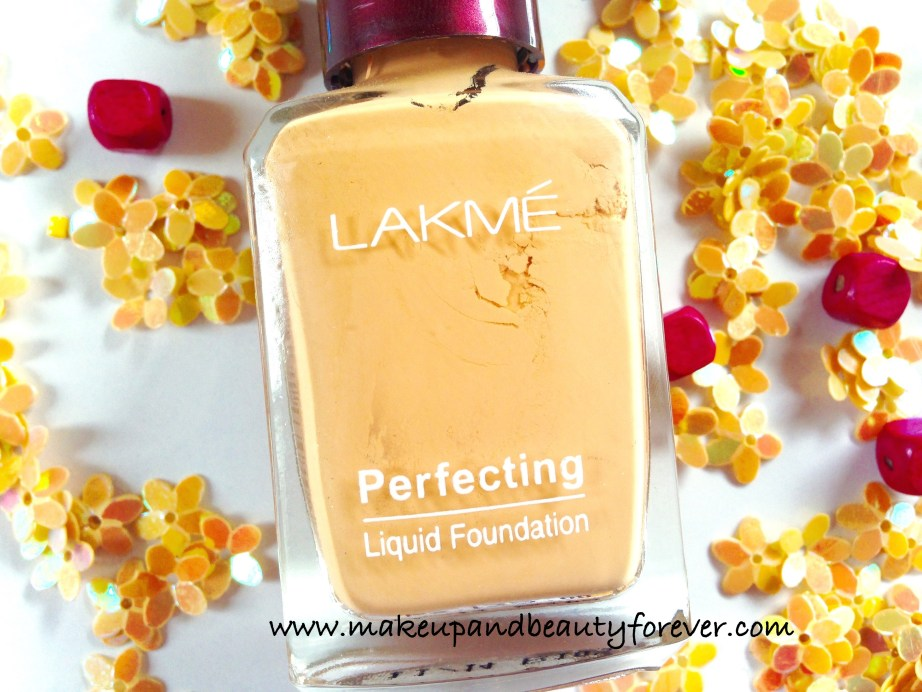 Lakme Perfecting Liquid Foundation Review India