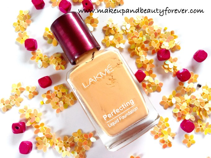 Lakme Perfecting Liquid Foundation Review Swatches Price Shades Shell India