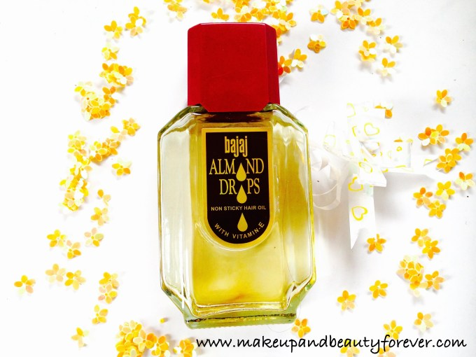 Bajaj Almond Drops Non Sticky Hair Oil with Vitamin E Review