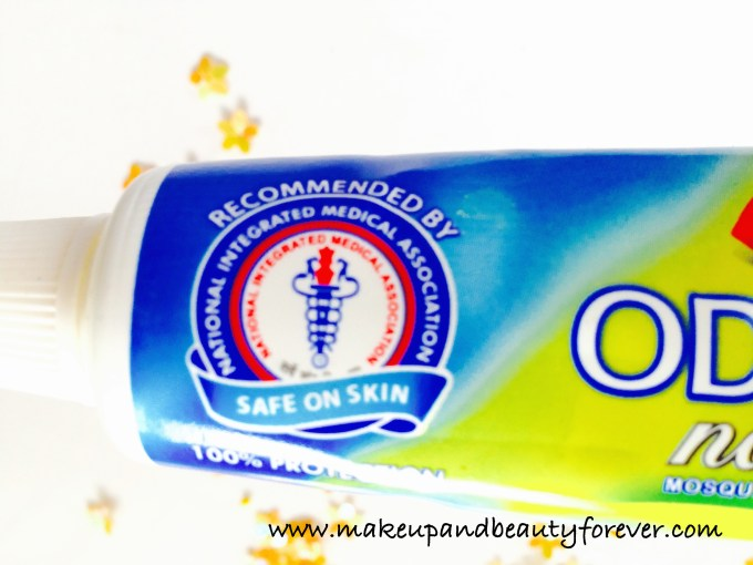 Dabur Odomos Naturals Mosquito Repellent Cream N NDiethyl Benzamide or DEET Review