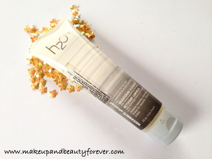 H2O Plus Waterwhite Advanced Brightening Cleanser Review