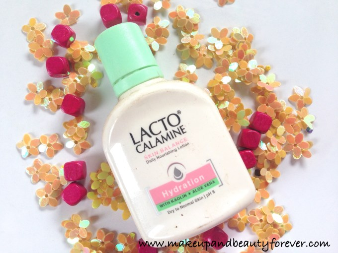 Lacto Calamine Hydration Lotion with Kaolin and Aloe Vera for Dry Normal Skin Review