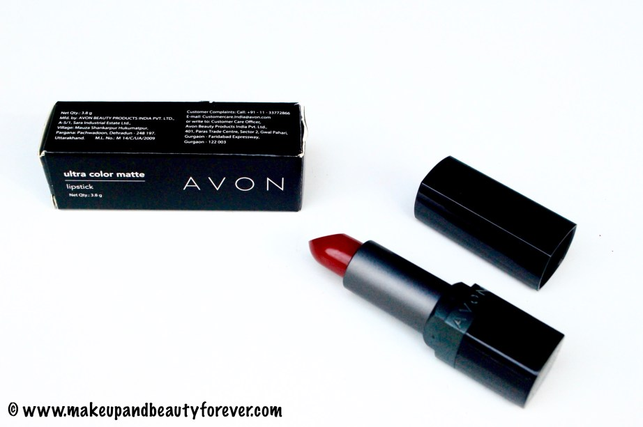 Avon Ultra Color Matte Lipstick Matte Merlot Review Swatches FOTD 4