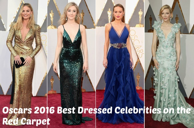 Oscars 2016 Top Best Dresssed Celebrities