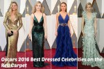 Oscars 2016 Best Dressed Celebrities on the Red Carpet