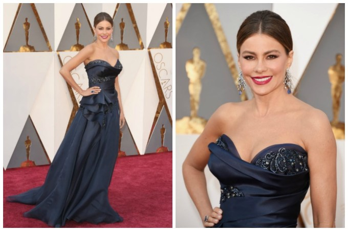 Sofia Vergara Oscars 2016 best dress