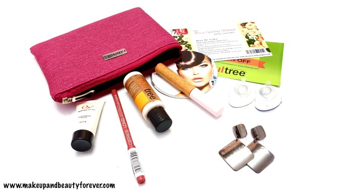 April Fab Bag 2016 - Its a Spring Thing Indian makeup and beauty blog MBF
