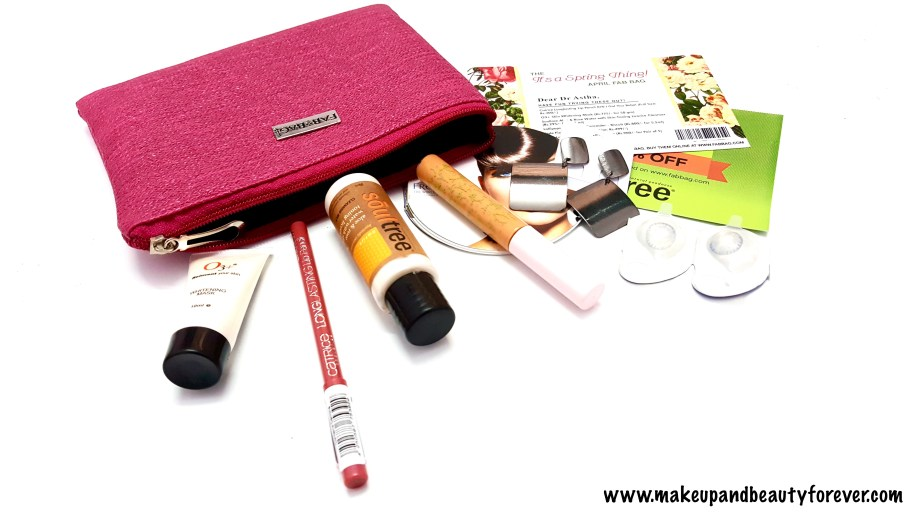 April FabBag 2016 - Its a Spring Thing