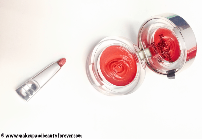 Colorbar Pout in a Pot Lipcolor 008 Charming Pink Review Swatch FOTD India
