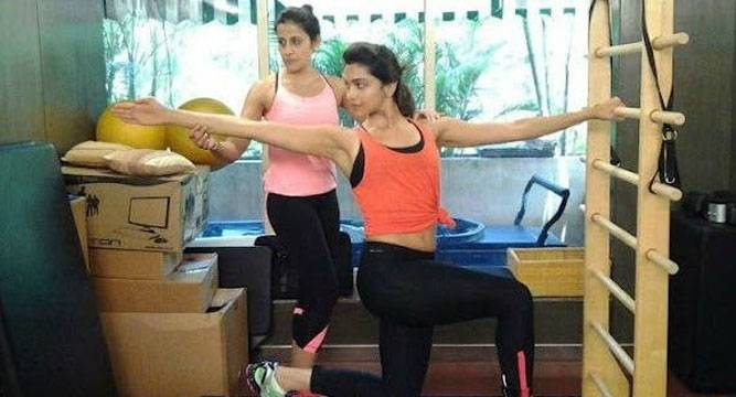 Deepika Padukone Yasmin Karachiwala workout fitness routine regime MakeupandBeauty Forever Indian Makeup and Beauty Blog