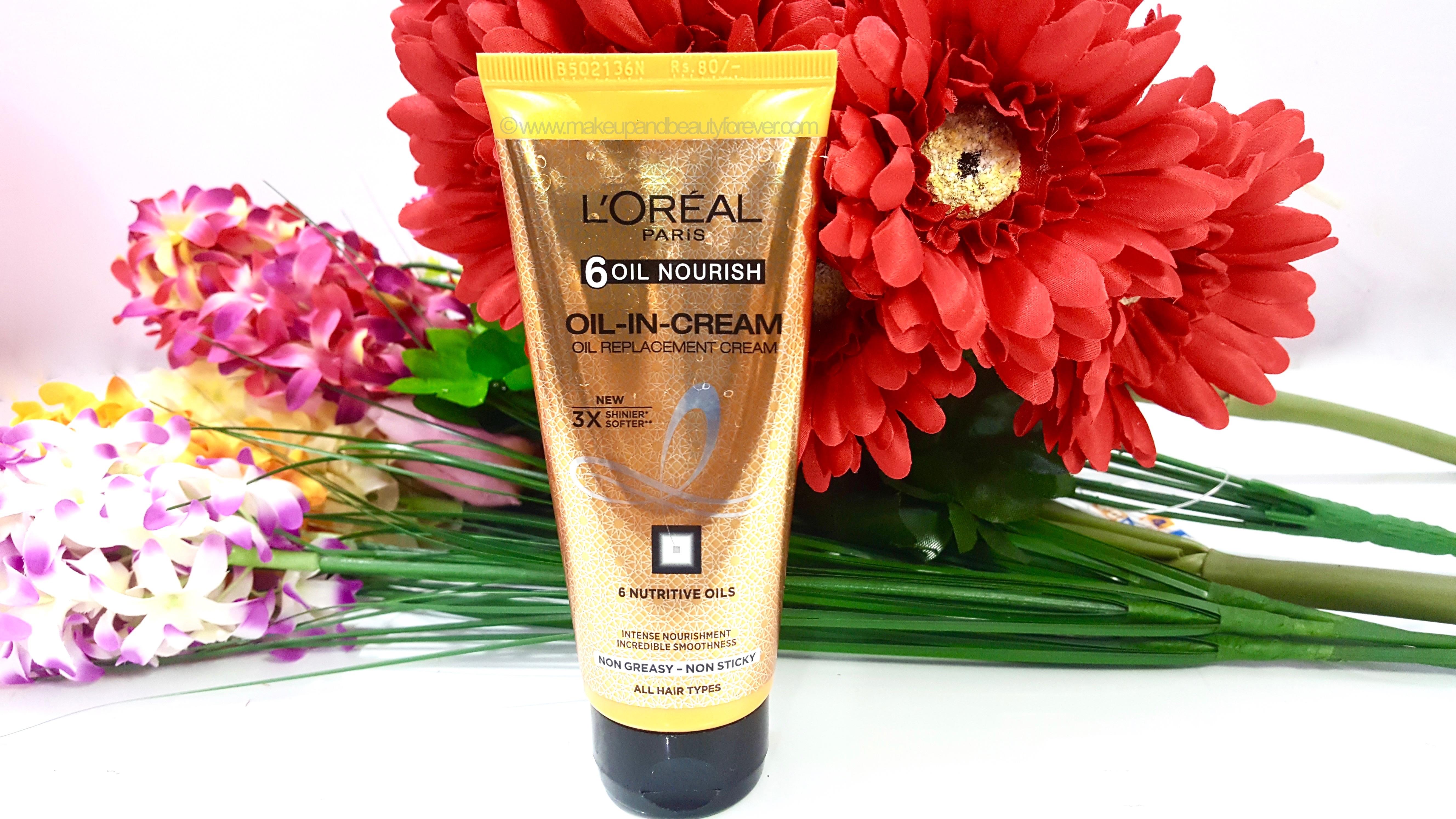 Loreal Paris Hair Expertise 6 Oil Nourish In Cream L Oreal Total Repair5 Mask 200ml Replacement Review