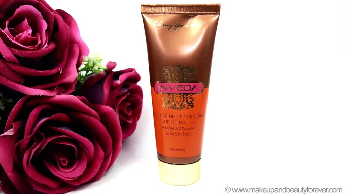 Inveda Sunscreen Cream Gel SPF 30