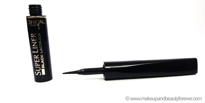 L'Oreal Super Liner Black Lacquer Black Vinyl Review