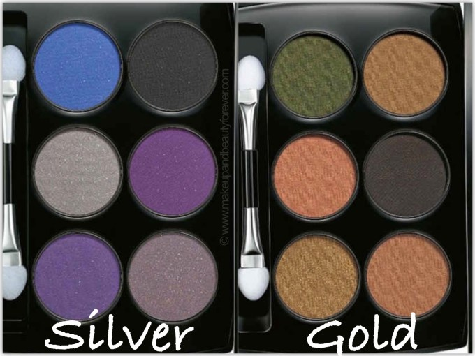 Lakme Absolute Illuminating Eye Shadow Review Silver Gold