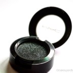 MAC Black Tied Eyeshadow Review Swatch EOTD MBF