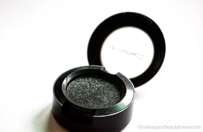 MAC Black Tied Eyeshadow Review Swatch EOTD MBF