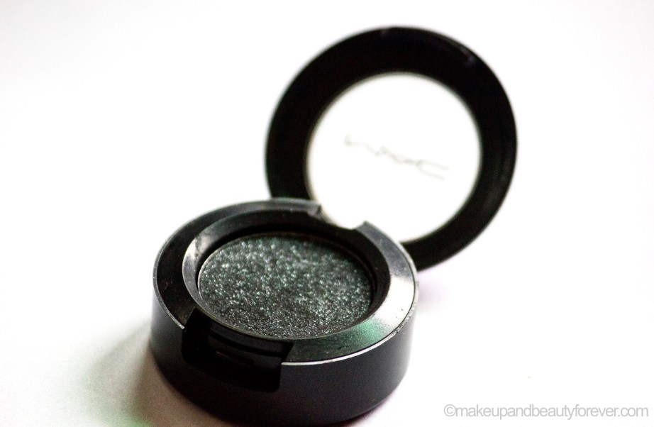 MAC Black Tied Eyeshadow Review Swatch EOTD blog