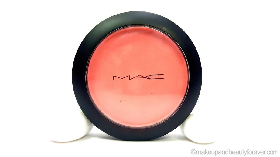 MAC Fleur Power Blush Review Swatches