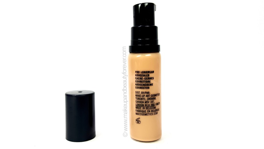 MAC Pro Longwear Concealer Review Swatches Beauty Blog